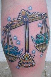 Heather's Zodiac Tattoo