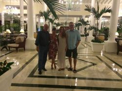 With Friends in Punta Cana, 2015.