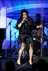 Valerie Simpson performing