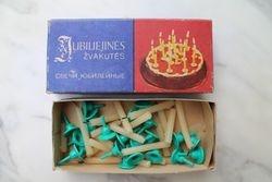 Jubiliejines gimtadienio zvakudes. Kaina 6