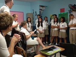 Eighth Grade English Class