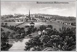 Halesowen Panoramic view.