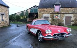 Chevrolet Corvette C1 1960 hard top