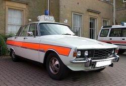 1974 Rover P6 traffic car
