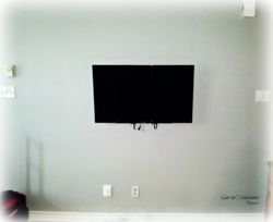 "40"" Sony flat screen tv installation"