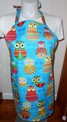 Owls apron on Etsy