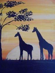Two Giraffe