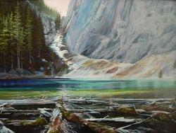 Upper Grassi Lake Canmore Alberta