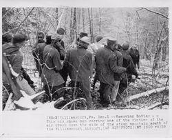 Rescue workers. Photo courtesy of the Williamsport Sun Gazette archive.