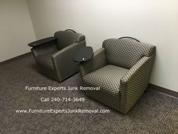 Junk office furniture removal in Bowie MD