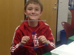 Our SUNS K-3rd Grade K'Nex Workshop on Geometry M.02.23.2015 at Fremont Public Library