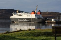 MV Finlaggan at Port Ellen