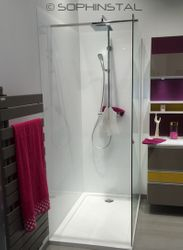 Crédence de salle de bains