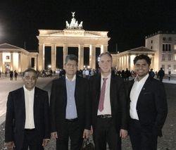The evening after.....at Brandenburg gate