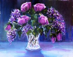 Roses and Lilacs - 1