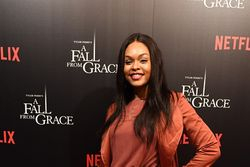 "Demetria McKinney attends Tyler Perry's ""A Fall From Grace"" VIP Screening at SCAD Show"