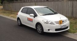 Driving School Epping - Toyota Corolla Hatch - Automatic Transmission