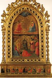 Fra Angelico, Annunciation & Adoration of the Magi