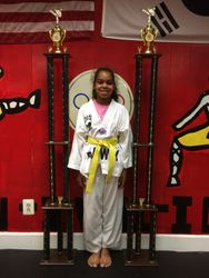 05/16/2015 S. Pavlou TKD Championships  Samia Silver 1st Place Forms  1st Place Sparring
