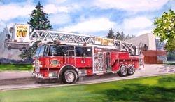 Five Cities Fire Truck