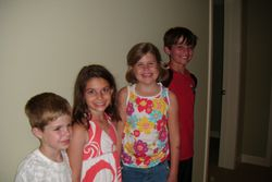 Carter, Lenox, Emma and Avery