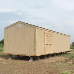 12x40x10 A-frame shed