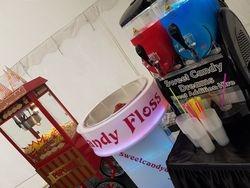 Popcorn, candy floss and slush machine hire.