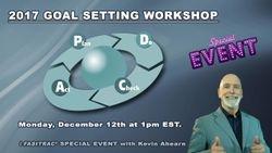 2017 Goal Setting Workshop