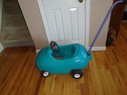 Little Tikes Push Buggy and Cozy Coupe - $30