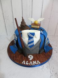 Ravenclaw Birthday Cake