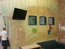 Mural in progress...