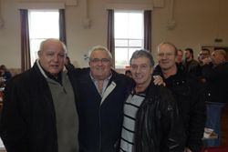 Jackie Turpin, Colin Joynson, Steve Grey, Mal Sanders