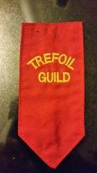 Trefoil Guild Badge Tab 1990-2000s