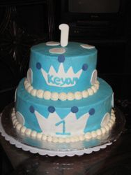 Lil Prince 1st BD Cake