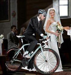 huwelijk van een renner