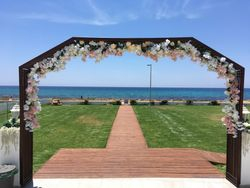 Flower arch.