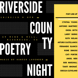 Riverside County Poetry Night