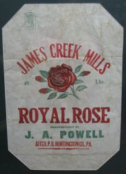 J. A. Powell James Creek Mill Bag