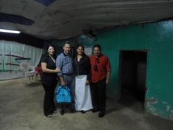 Brother Tulio and Omar's family