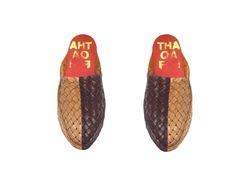 Thaqafah huaraches mules