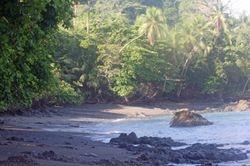 Landing area at Corcovado