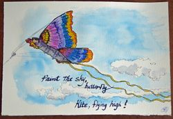 Fly high, butterfly