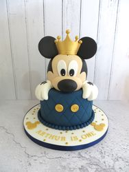Arthur's First Birthday Cake