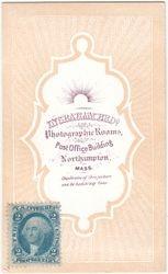 Ingraham Bros., photographers of Northampton, MA - back