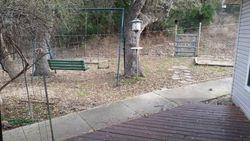 Backyard swing & horseshoes
