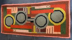 Art Deco Constructivist wool carpet Belgium