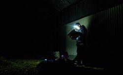 Barn + Broadsheet newspaper. Wild camping in style