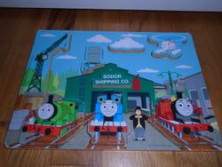 Thomas & Friends Wooden Chunky Puzzle - $8