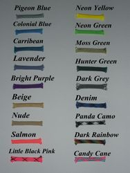 Paracord Colour's!