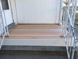 Mahogany Porch Decking